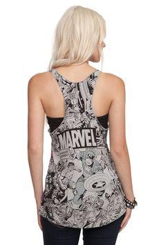 Marvel shirt - awesomeness! #marvel #geek