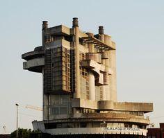 La Casa del Portuale, Napoli, Aldo Loris Rossi, 1968-80