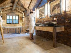 Rustic Cabin Bathroom Mirrors | Stribal.com | Design Interior Home |  Pinterest