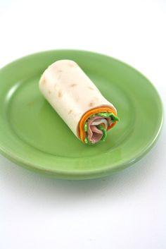 Ham and Turkey Roll-ups Food for American Girl Dolls via Etsy