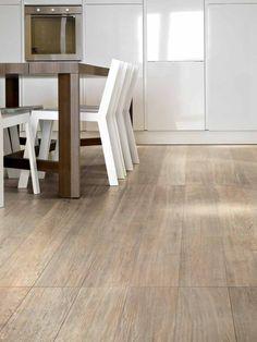 pavimento in grés porcellanato effetto legno, cream oak