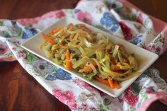 Verduras a la salsa wok | Comer con poco