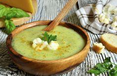 sopa de couve flor com curry