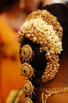 telugu wedding hairstyle