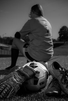 Girl Graduation Pictures, Soccer Ball, Picture Ideas, Girls, Sports, Toddler Girls, Hs Sports, Daughters, European Football