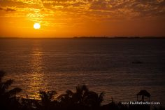 Isla Mujeres Mexico Photo sunset by Paul Retherford Wedding Photography, http://www.PaulRetherford.com