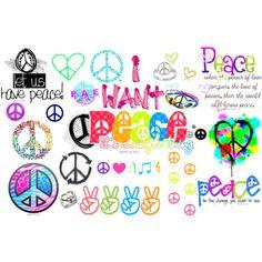 """""""Peace"""" all around"""