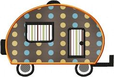 Camping Applique Set