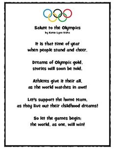 Salute to the Olympics