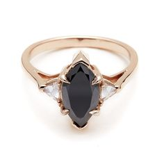 You Might Just Want a Rose Gold Engagement Ring After Seeing These: It's no secret that we all share a mutual love for Anna Sheffield's unique engagement rings — they feel a touch vintage yet still like an utterly personal pick for the wearer (as if you couldn't imagine someone slipping it on their finger until that very moment).