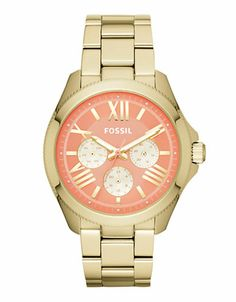 FOSSILCecile Multifunction Stainless Steel Watch – Gold-Tone
