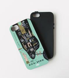 New York iPhone 5 + 5s Case - INLAY