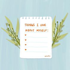 Self-love illustration for mental healing and personal wellness. Love Illustration, Illustration Artists, Personal Wellness, One Of Those Days, Feeling Insecure, Question Everything, Lists To Make, Self Love, Encouragement