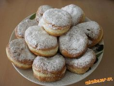 Mäkkulinké, nadýchané a lahodné ŠIŠKY :) rýchle a jednoduché A Food, Food And Drink, Eastern European Recipes, Rum, Sweet Recipes, Cooking Tips, Gluten Free, Sweets, Bread