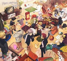 ZIS, Disney, ONE PIECE, Kuroko no Basuke, KILL la KILL, One Punch-Man