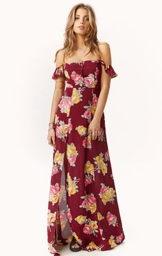bardot maxi dress by @flynnskye #planetblue