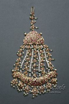 Kundan Jadai Jhoomar | Tibarumal Jewels | Jewellers of Gems, Pearls, Diamonds, and Precious Stones