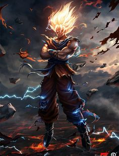 Goku Wallpaper for Phones and Tablets