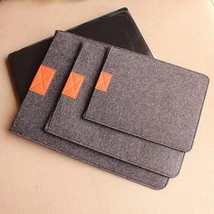 """Fashion unique soft felt laptop sleeve laptop case laptop bag for Macbook 11.6""""/13.3""""/15"""" Macbook Air Mac Pro Retina"""