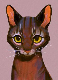 tashi by NeonCorvid on DeviantArt : Kunst Inspo, Art Inspo, Art And Illustration, Art Illustrations, Cat Drawing, Drawing Faces, Drawing Tips, Drawn Art, Art Tutorials