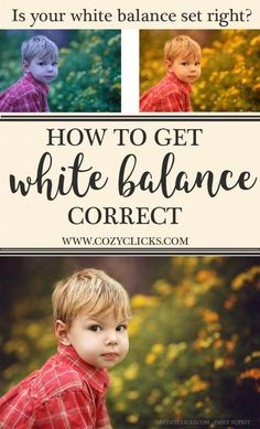 Are you a new photographers unsure how to get your white balance set right? Find out how her with these beginner photographer tips for setting white balance.