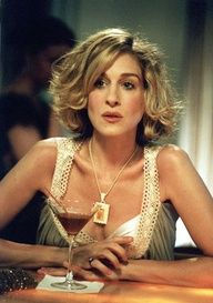 If I ever go short again- it would be like Carrie Bradshaw :)