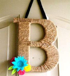 Twine Monogram Wreath