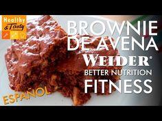 Brownie de proteína versión fitness (español) | Healthy&Tasty by Weider - YouTube