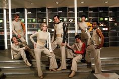 Space 1999 - Moonbase comfort, 70's style