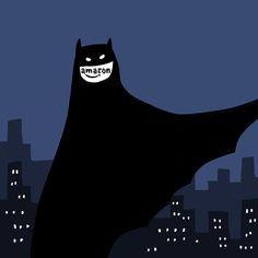 最近バットマン関連商品を買いすぎてて、Amazonのロゴがレゴのバットマンの口に見えてヤバイ。                                                                                                                                                      もっと見る