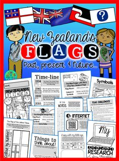 Green Grubs Garden Club: NZ flag Referendum 2015-16 {Free colour by number flag sheets}