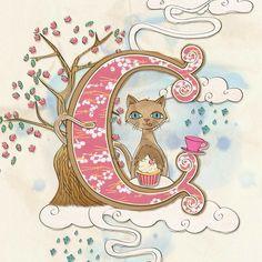 Alphabet Letter C Illustration