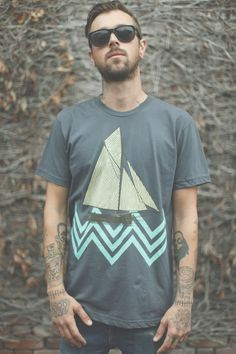 Modern Waves by PrintedPalette on Etsy, $26.00