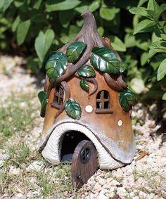Vine Roof Fairy House #zulily #zulilyfinds