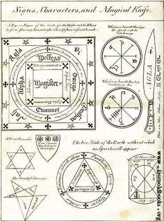 Numerology Reading - Sigils Symbols: Signs, Characters, and Magickal Knife. - Get your personalized numerology reading Occult Symbols, Magic Symbols, Ancient Symbols, Witch Symbols, Viking Symbols, Egyptian Symbols, Viking Runes, Wicca Witchcraft, Magick Spells