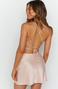 Pink Party Dresses, Hoco Dresses, Blush Dresses, Sexy Dresses, Cute Dresses, Fashion Dresses, Backless Homecoming Dresses, Party Dresses For Women, Birthday Dresses