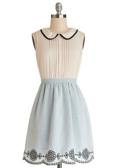 This dress would be the perfect Alice In Wonderland Disney Bound!! #disneybounding #ModCloth