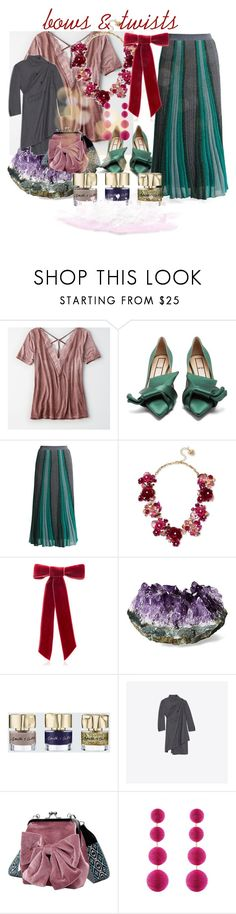 """347"" by mrs-h-7 ❤ liked on Polyvore featuring American Eagle Outfitters, N°21, Missoni, Betsey Johnson, Jennifer Behr, Smith & Cult and Rebecca de Ravenel"