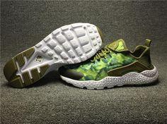2ae01de08300 Nike Air Huarache Army Green 818061-300 Mens Racer Men size 40~44