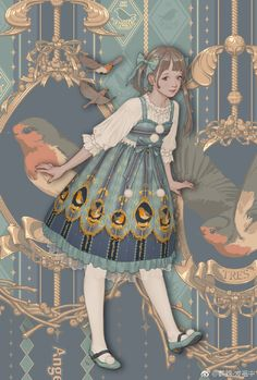 The Home of the Robins is Your Lolita Dress