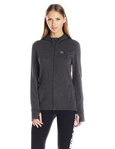 PUMA Womens Elevated FZ Hoody Dark Gray Heather XXLarge *** Check out this great product.