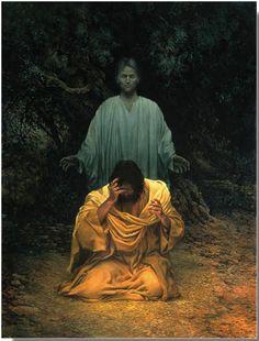 Gethsemane by James C Christensen