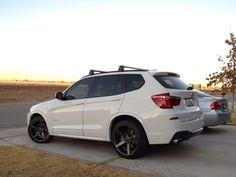 BMW X3 on Vossen wheels Above Average Rides Bmw, Bmw