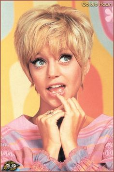 Too cute!...Goldie Hawn on Laugh-In  Another show I probably shouldn't have been watching at a young age!  but I liked it! I liked It!