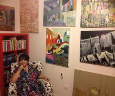 ציוריה של רחל ביבי בתערוכות יחיד ותערוכות קבוצתיות והיא מלמדת ציור במועדוני קשישים ונשים חד הוריות. אני מוקסמת! מוזמנים לראות באתר המומלצים של אורית את יצירותיה. http://www.thebestoforit.com/he/recommended-shows-and-arts/480
