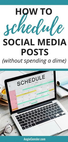 How to schedule social media posts using completely free tools. Includes four step-by-step video tutorials that show you how to schedule content without spending a dime! via media marketing business posts Social Media Analytics, Social Media Influencer, Social Media Content, Social Media Tips, Social Media Marketing, Marketing Strategies, Social Media Management, Content Marketing, Business Marketing