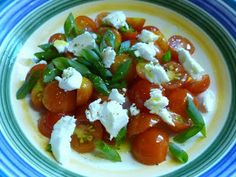 """Goat Cheese & Tomato """"Soup"""" or Salad"""