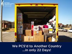 How do you move on short notice? Here is how it worked out for us. #pcs #move #overseas
