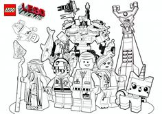 Free: The LEGO Move Coloring Pages, LEGO Face Masks and LEGO Movie Valentine's Day Printables #EverythingIsAwesome