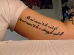 #quote #tattoo #tattoos #ideas #designs #men #formen #menstattooideas